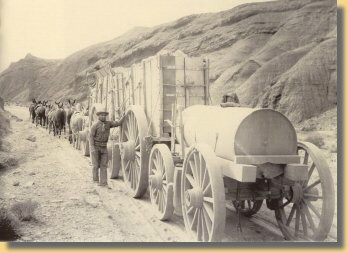 Transport von Borax im Death Valley